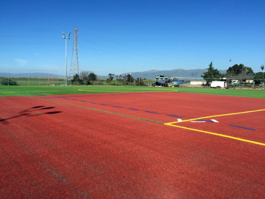 Artificial Grass Photos: Artificial Grass Installation Sierra Madre, California Softball