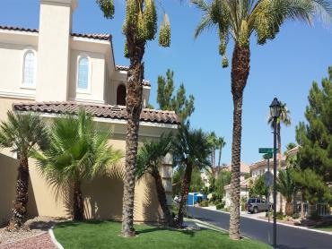 Artificial Grass Photos: Artificial Grass San Antonio Heights, California Landscaping, Front Yard Ideas