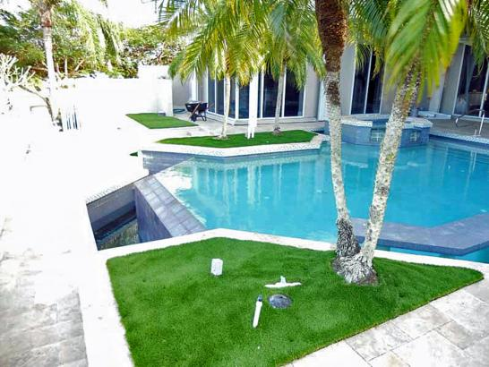 Artificial Grass Photos: Artificial Lawn Ford City, California Landscape Ideas, Pool Designs