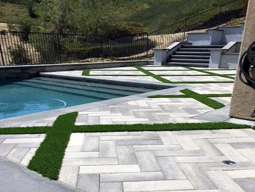 Artificial Grass Photos: Artificial Turf Cost Mission Hills, California Lawns, Above Ground Swimming Pool