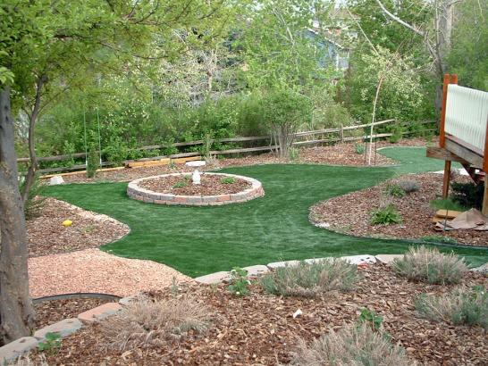 Artificial Grass Photos: Artificial Turf Installation East Rancho Dominguez, California Landscape Photos, Backyard Design