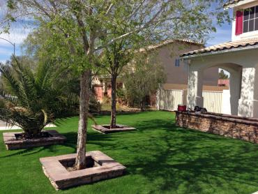 Artificial Grass Photos: Artificial Turf Installation Pomona, California Lawns, Small Front Yard Landscaping