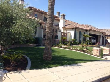 Fake Grass Carpet Bakersfield, California Landscape Design, Front Yard Landscape Ideas artificial grass