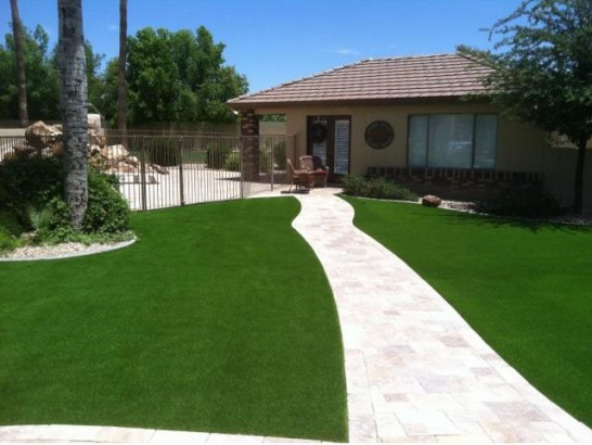 Artificial Grass Photos: Fake Grass Fullerton, California Paver Patio, Small Front Yard Landscaping