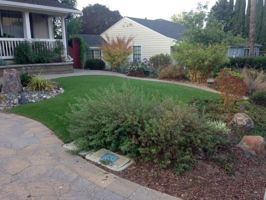 Artificial Grass Photos: How To Install Artificial Grass Woodland Hills, California Landscaping, Front Yard Landscape Ideas