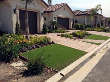 Artificial Grass Photos: Installing Artificial Grass Downey, California Backyard Deck Ideas, Front Yard Design