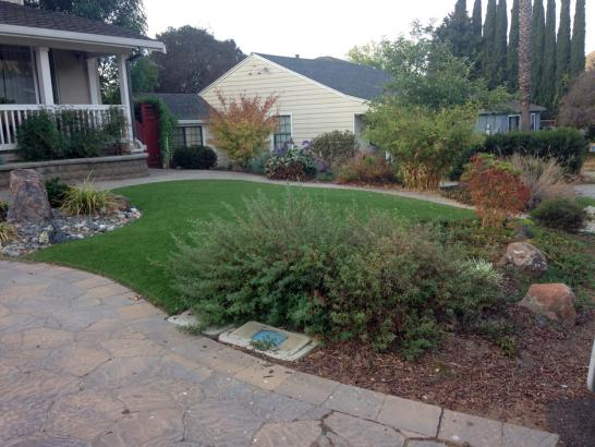 Artificial Grass Photos: Lawn Services Huntington Beach, California Paver Patio, Front Yard Design