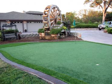 Artificial Grass Photos: Plastic Grass Santa Ynez, California Artificial Putting Greens, Front Yard Landscaping
