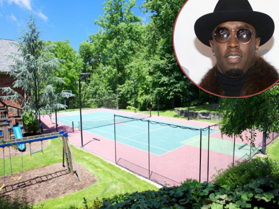 Sean Diddy Combs (AKA Puff Daddy, P. Diddy) is Selling Mansion With Putting Green artificial grass