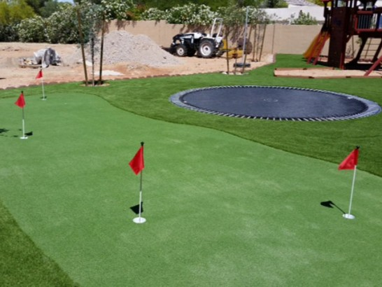 Turf Grass Santa Ana, California Putting Green, Backyard Garden Ideas artificial grass