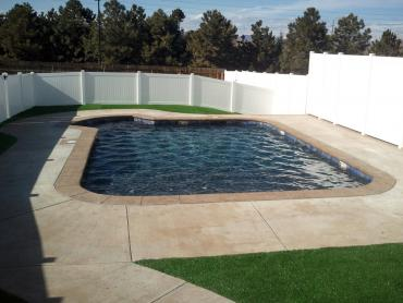 Turf Grass Tustin, California Home And Garden, Backyard Pool artificial grass