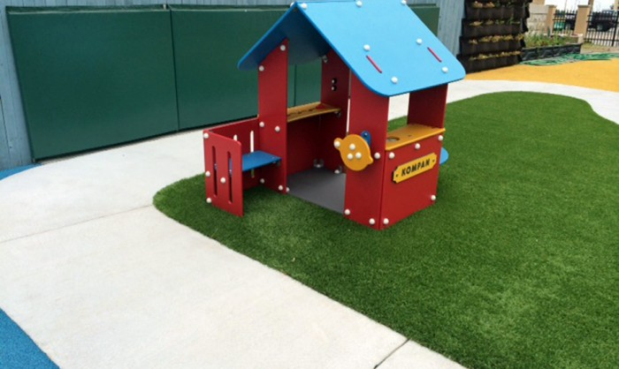 Artificial Grass for Playgrounds in Ventura